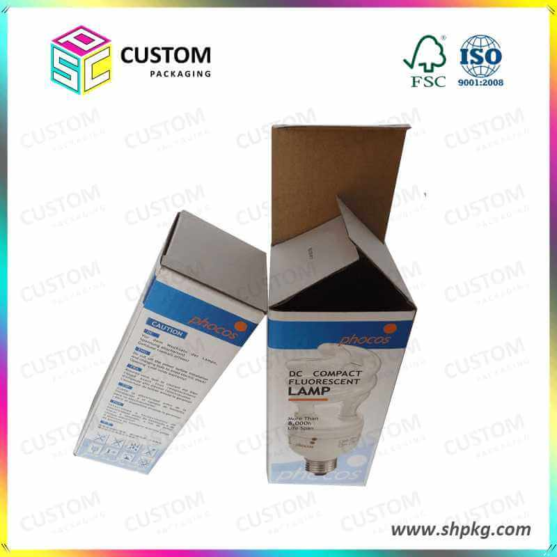 reverse tuck end paper printed box