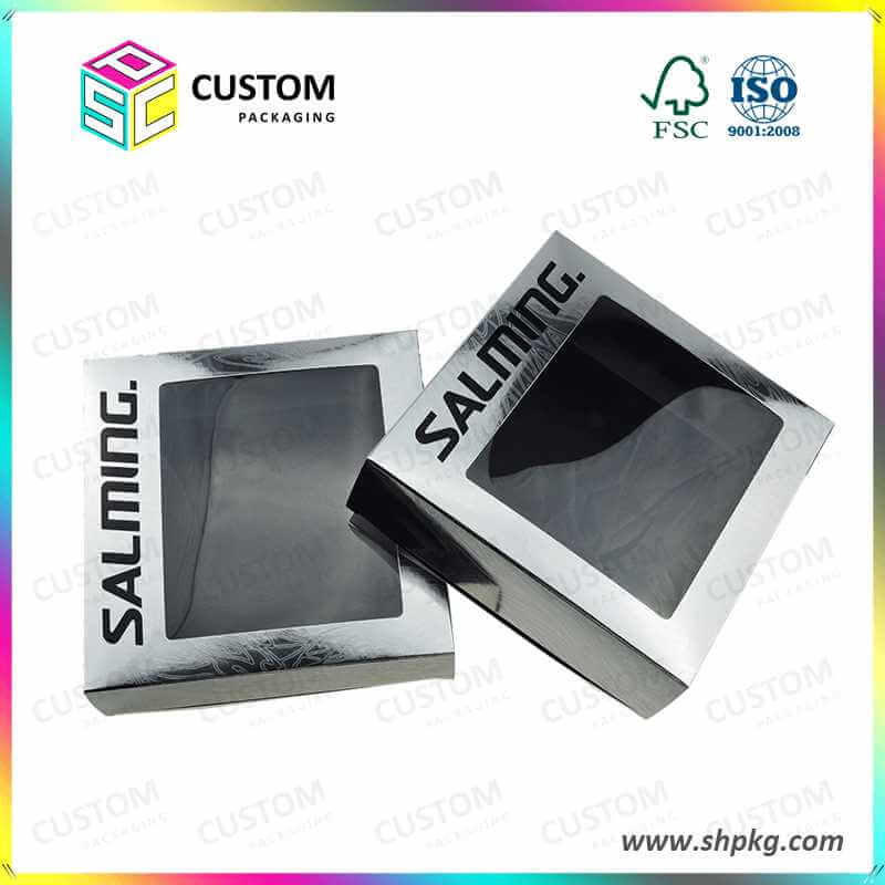 silver stamping paper box