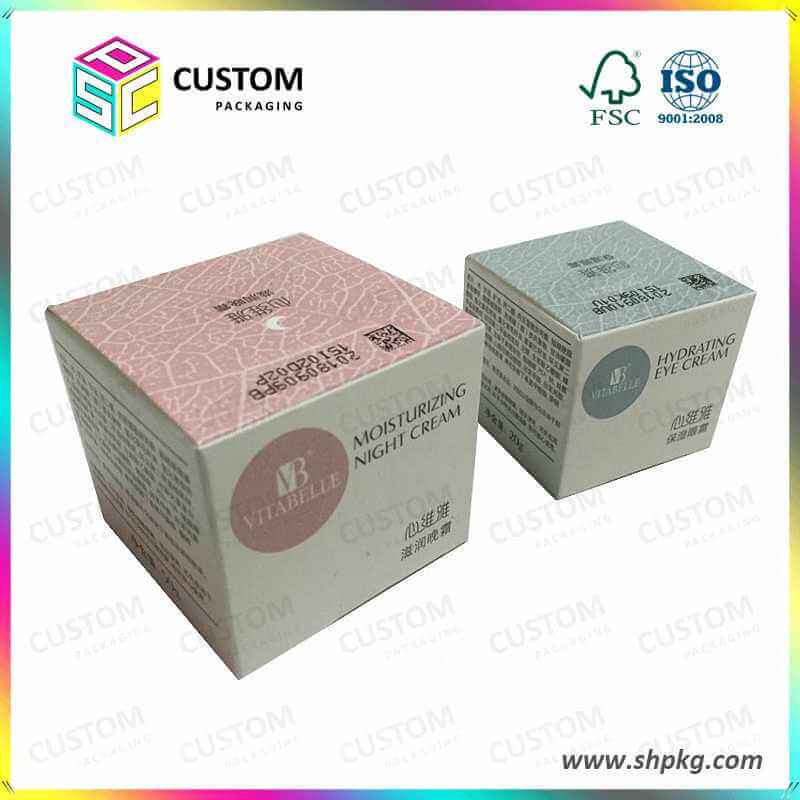 skincare cream paper box