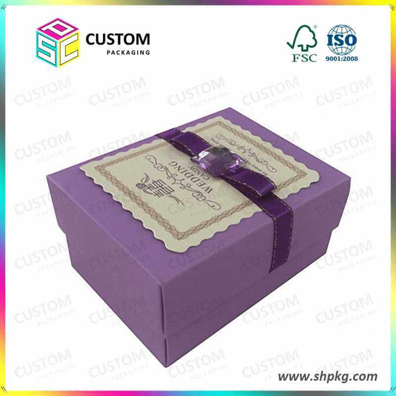 Wedding box with insert