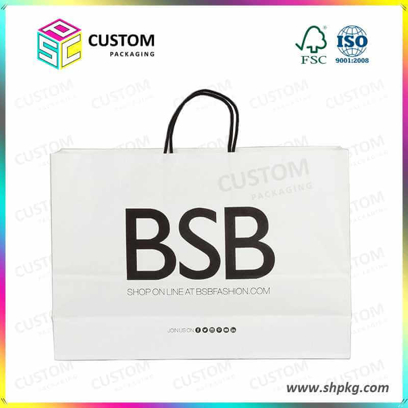 white paper bag shanghai