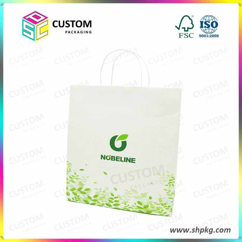 white paper bag wholesale