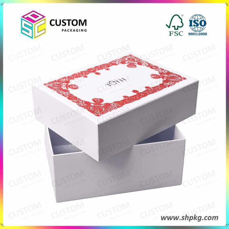 White red gift box